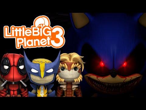 SONIC.EXE HIDE & SEEK! | Little Big Planet 3 Multiplayer (15)