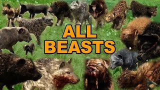 Far Cry Primal - Beast Master Guide - All Animal Locations and How to Tame and Use Your Pet Beasts