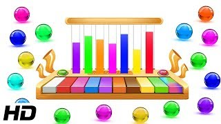 World Music Day 2018 Special | Learn Colors With Colorful Musical Xylophone | Shemaroo Kids