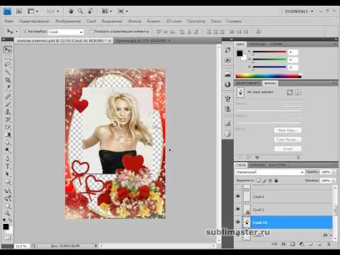 Рамки для фотографий на фотошопе как сделать