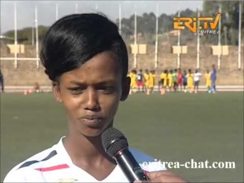 Eritrean Role Model Female Football Player Salina Tedros Eritrea TV