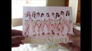 Girls' Generation SNSD - Gee Japanese Ver. (Limited Edition/CD+DVD) Unboxing