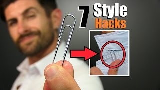 7 GENIUS Style Hacks Every Guy Should Know!