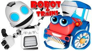 Robot & Trains Cartoon for Children