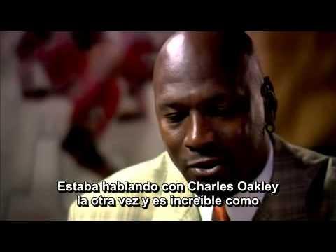 Michael Jordan Conversation Interview Part 1 subtitulos castellano español