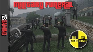 Military Funeral Gag - San Andreas Test Dummies Ep. 12 - GTA5 Funny and Fail Moments