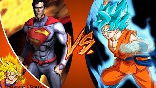 NEW 52 SUPERMAN vs GOKU! SUDDEN DEATH! Cartoon Fight Club Ep 44 REACTION!!!