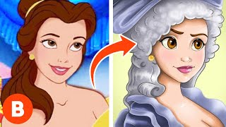 What These Disney Characters Should Have Looked Like