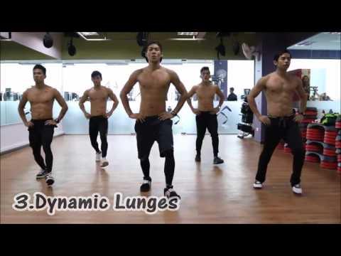 Bài tập thể dục tại nhà cho nam