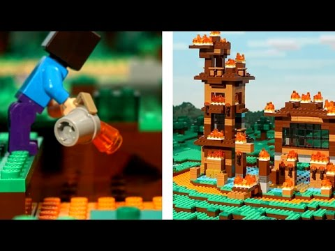 Xxx Mp4 BIGGEST MINECRAFT FAIL LEGO Stop Motion Animation 3gp Sex