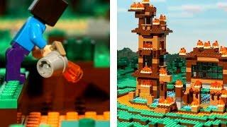 BIGGEST MINECRAFT FAIL (LEGO Stop Motion Animation)