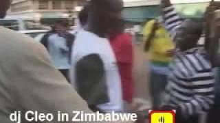 dj cleo tv - dj Cleo in zimbabwe 1