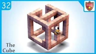 Mekorama Level 32 Walkthrough - The Cube