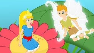 Poucelina (THUMBELINA)  - dessin animé en français - Conte pour enfants