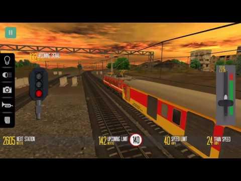 Indian Train Simulator - Mathura To Jaipur (WAP-4 - Double Decker)