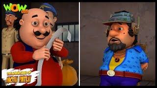 Dr Jhatka ka Mind Printer - Motu Patlu in Hindi - 3D Animation Cartoon for Kids -As seen on Nick