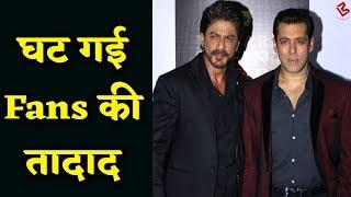 Shahrukh-Salman को लगा तगड़ा झटका, एक झटके में कम हो गए fans