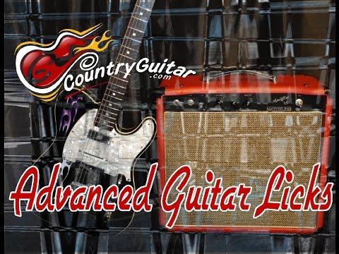 Country Guitar Lesson: AV4 Open String in D