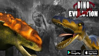 Zombie Fortress- Dino Android Gameplay (HD)