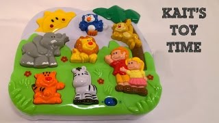 Kait's Toy Time! Zoo Animal Sounds