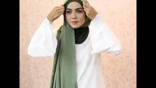 Tutorial instant | shawl | tudung | by ariani