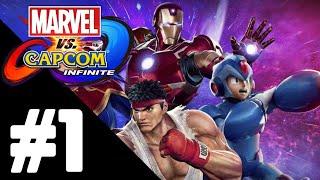 Marvel vs. Capcom: Infinite Walkthrough Gameplay Part 1 – PS4 1080p Full HD – No Commentary