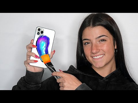 Surprising Charli D Amelio With 20 Custom iPhone 11s 📱📞 ft. TikTok & LilHuddy Giveaway