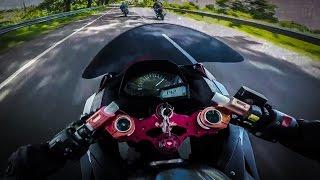 2017 CBR250RR vs R25 vs Ninja 250 RACE!