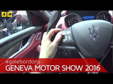 Maserati Levante contro Porsche Macan Ginevra 2016