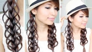Loop Braid Hair Tutorial | Braided Hairstyle - Bebexo