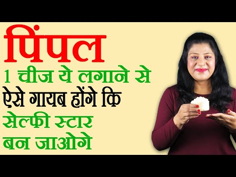How to Remove Pimples in one day 100% working in Hindi | Homemade Pimple Remover For Men & Women