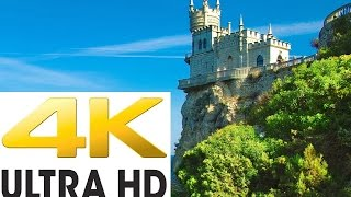 ♫♫♫ Beautiful Places of This Planet in Ultra HD ♥ Crimea ♥ Nature ♥ 4K ♥ Relax Music