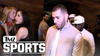 Rihanna -- Pulls Hat Trick with Karim Benzema ... 3rd Late Night Together | TMZ Sports