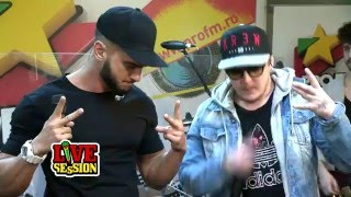 Dorian Popa feat What`s UP - Buze | ProFM LIVE Session