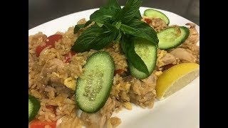 How To Make Thai Chicken Fried Rice