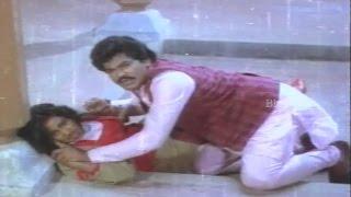 Charan Raj Misbehaves Radhika || Donga Mogudu Movie Scenes