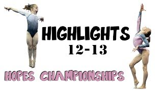 Hopes Championships Highlights // 12-13