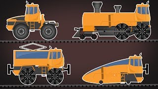 Transformer | Electric Train | Bullet Train | Vehicle For Kids | Cartoons Videos
