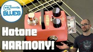 Hotone Harmony Pitch Shifter & Harmonizer Pedal