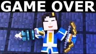 All Game Over Scenes - Minecraft: Story Mode Season 2 Episode 2: Giant Consequences