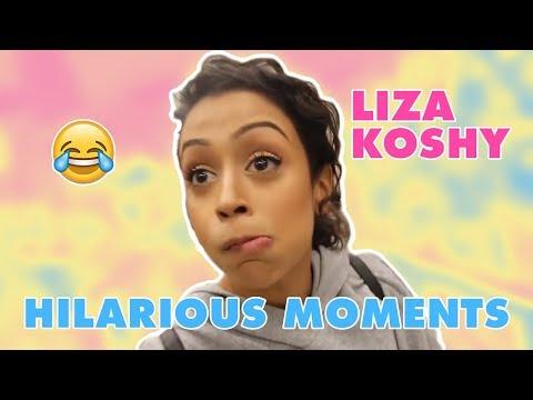 LIZA KOSHY BEST MOMENTS HILARIOUS