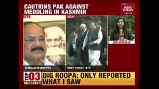 Venkaiah Naidu Warns Pakistan Against Pushing Terror In India