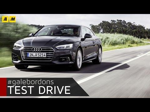 Audi A5 Coupé   Test drive #AMboxing [ENGLISH SUB]