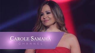 """Rooh Fell"" on stage - Carole Samaha / روح فل"" على المسرح - كارول سماحة"""