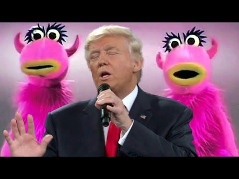 Donald Trump Sings Muppets 'Mahna Mahna'