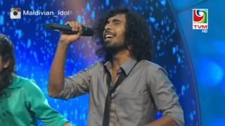 Maldivian Idol Gala Round   Adhu mihaalaath by Laisha, Sadig and Muazzin