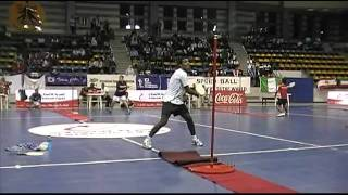 كرة السرعه(سوبر سولو) بطولة العالم 2009 ياسر حفني