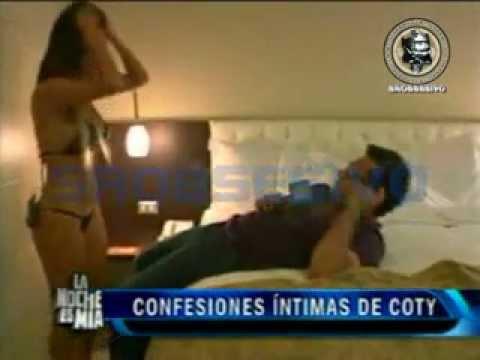 Coty Alvarez en la intimidad