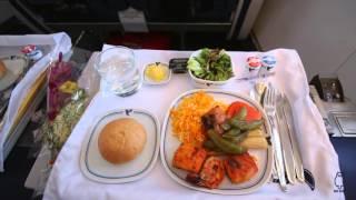 Iran Air Boeing 747SP Kuala Lumpur KUL to Tehran Imam Khomeini Airport IKA in Homa Class