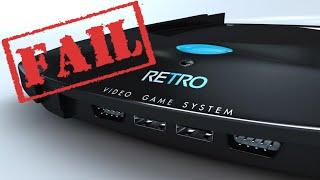 Por que o Console Retro-VGS Fracassou?